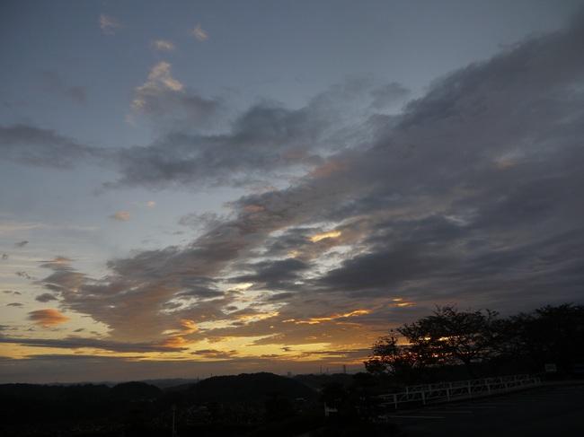0606_美山街道にて朝焼け.JPG
