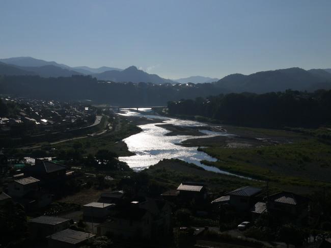 0645_朝の相模川と朝日.JPG