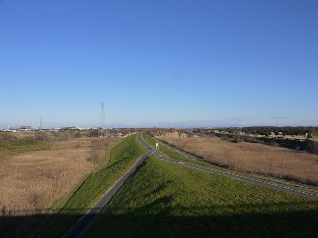 0824_やっと荒川サイクリングロード.JPG