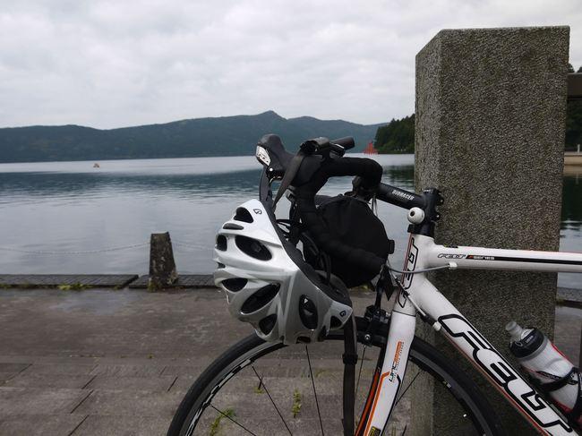 0855_芦ノ湖で休憩.JPG
