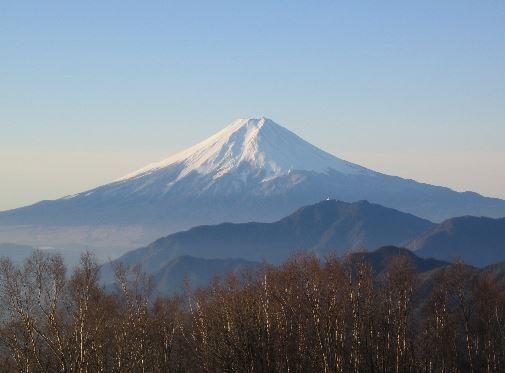 500円札の雁ケ腹摺山.JPG