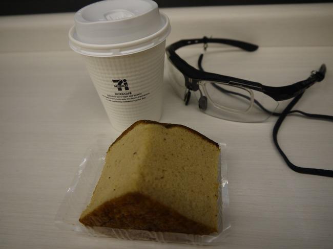 524_紅茶シフォンケーキで休憩.JPG