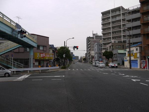 ガラガラの横須賀国道16号.JPG