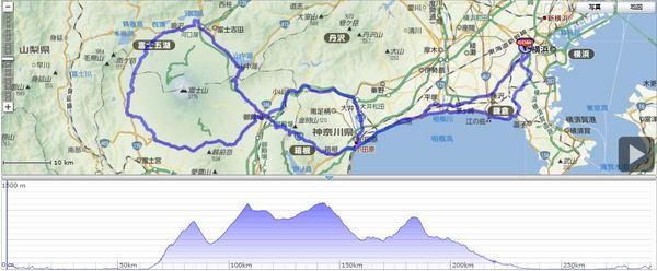 自転車の 東京 富士山 自転車 ルート : ... 中年自転車ライフ:So-netブログ