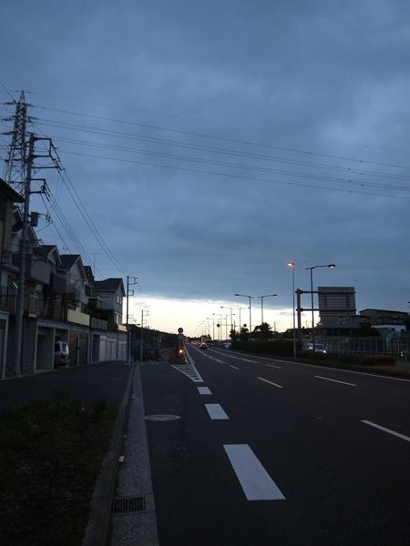 朝の環状2号線.JPG