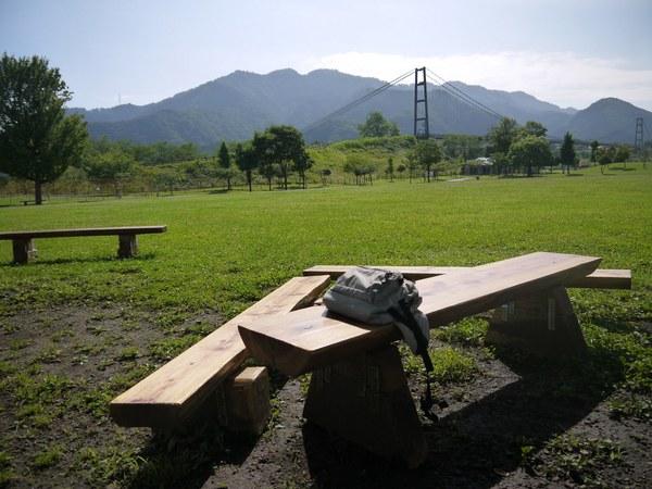 気に入っているベンチ.JPG