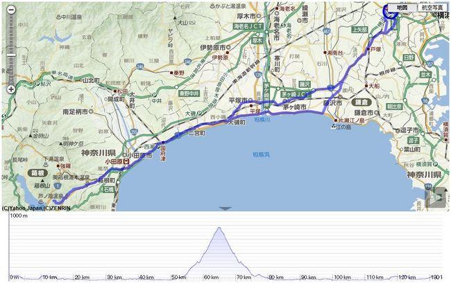 箱根旧道ロングライド_133.9km_最高770m_1343m.JPG