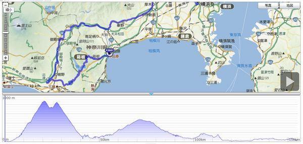 箱根_三島_距離152km_獲得2318m_最大874m.JPG