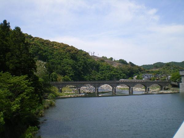 耶馬溪とオランダ橋.JPG