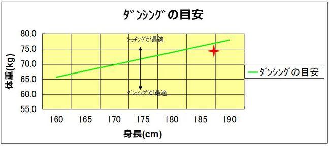 ダンシングの目安.JPG